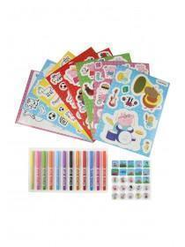 Girls Peppa Pig Sticker Tube