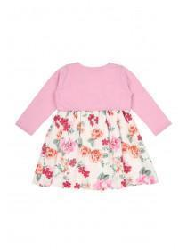 Baby Girls 2PC Floral Dress Set