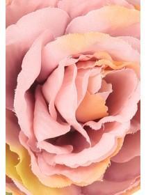 Womens Purple Large Rose Garland
