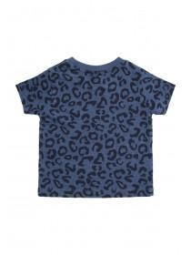Baby Boys Blue Cute Little Bro T-Shirt