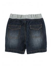 Baby Boys Dark Blue Pull On Shorts