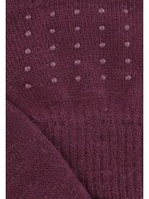 Womens Burgundy Magic Grip Gloves