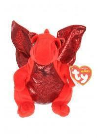 TY Beanie Baby Y Ddraig Goch Small Welsh Dragon