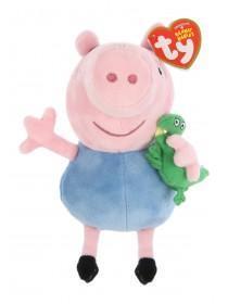 TY George Pig Beanie Baby