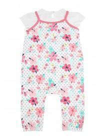 Baby Girls Havana Floral Jumpsuit
