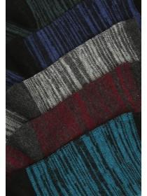 Boys 5pk Blue Design Socks