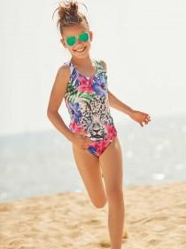 Older Girls Animal Swimsuit