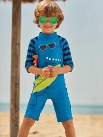 Younger Boys Blue Sun Safe One Piece