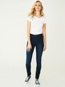 Womens Blue Basic Slim Poppy Jeans