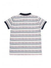 Younger Boys Aztec Stripe Polo Shirt