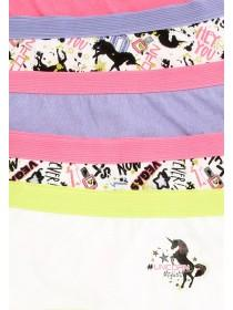 Girls 5pk Unicorn Shorts