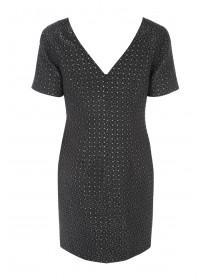 Womens Jacquard Shift Dress