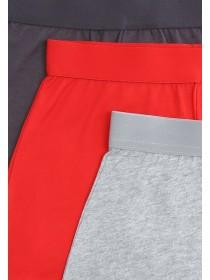 Boys 3pk Red Loose Fit Boxers