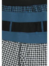 Older Boys 3PK Teal Trunks