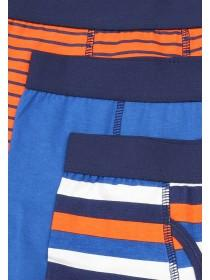 Boys 3pk Stripy Trunks