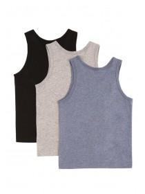 Younger Boys 3pk Vests