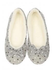 Womens Star Ballet Slippers