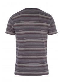 Mens Short sleeve Jacquard T-Shirt