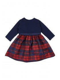 Baby Girls Tartan Dress and Shrug