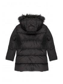 Older Girls Black Padded Coat