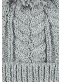 Womens Cable Knit Beanie Hat