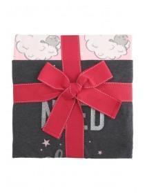 Womens Grey Sheep Pyjama Gift Set