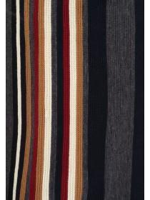 Mens Multicolour Stripe Scarf