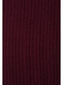 Mens Purple Rib Scarf