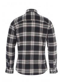 Mens Black Check Flannel Shirt