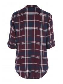 Womens Viscose Check Shirt