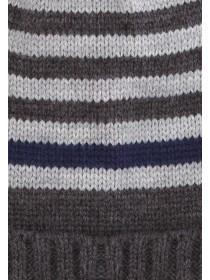 Younger Boys Stripe Beanie Hat