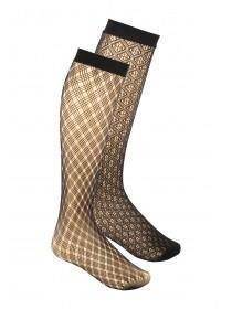 Womens 2PK Knee Highs