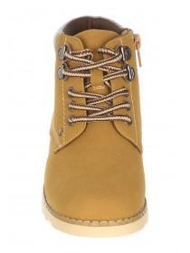 Younger Boys Tan Lace Up Hiker Boots