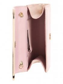 Jane Norman Rose Gold Box Clutch Bag