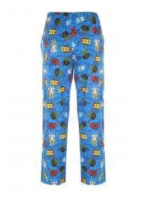 Mens Blue Marvel Superheroes Lounge Pants
