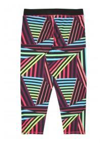 Older Girls Geometric Active Leggings