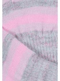 Older Girls 2Pk Pink Gloves