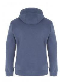 Mens Light Blue Long Sleeve Hoody