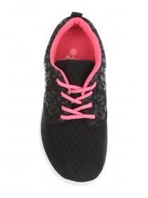 Girls Black Running Trainer