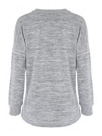 Womens Grey Sweater