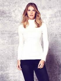 Womens Roll Neck Top