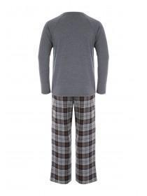 Mens Jersey Top and Woven Bottoms