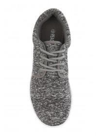 Mens Grey Runner Trainer