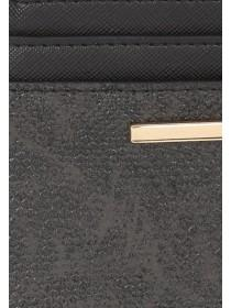 Womens Black Card Holder