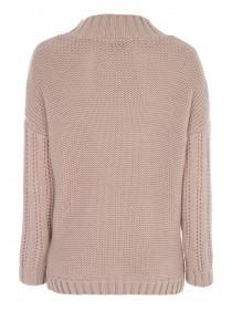 Womens Nordic Cable Knit Jumper