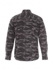 Mens Long Sleeve Camo Shirt