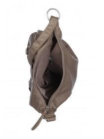 Womens Beige Messenger Bag