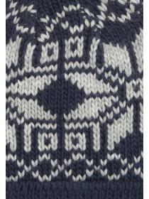 Older Boys Blue Pom Hat