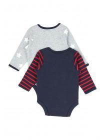 Baby Boys 2pk Mummy/Daddy Bodysuits
