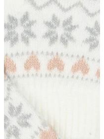 Womens Fairisle Touch Screen Gloves
